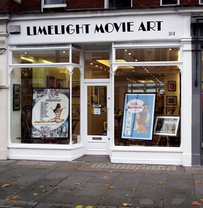 Limelight Movie Art Gallery